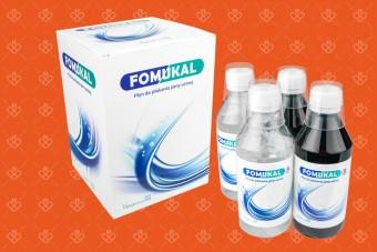 Fomukal po radioterapii, Fomukal duże opakowanie, 4 butelki, do płukania ust