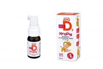 Apo D3, krople dla dzieci, 10 ml