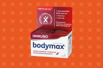 Witaminy Bodymax na odporność immuno, 60 tabletek
