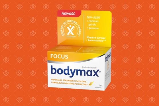 Bodymax Focus na pamięć, tabletki na naukę