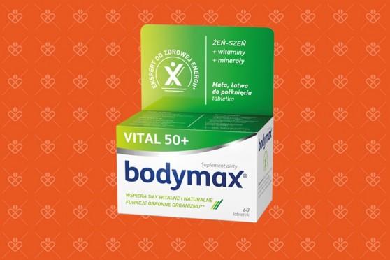Bodymax Vital 50+, 60 tabletek, witaminy dla seniorów z żeń-szeniem