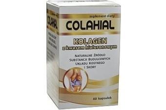 Colahial, kolagenem z kwasem hialuronowym, 60 kapsułek
