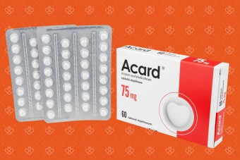 Acart lek, tabletki na serce Acard 75