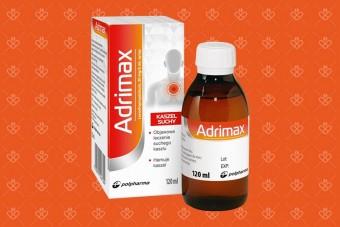 Zamiennik levoprontu - syrop na kaszel Adrimax lewodropropizyną