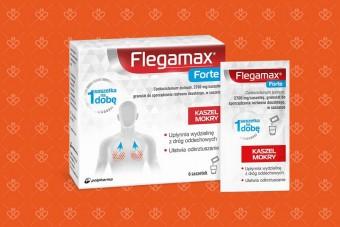 Flegamax Forte, 2700 mg, 6 saszetek