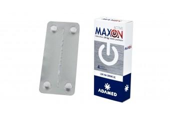Maxon active 4 tabletki powlekane 25 mg
