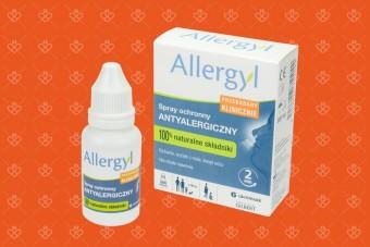 Allergyl, przeciwalergiczny spray ochronny