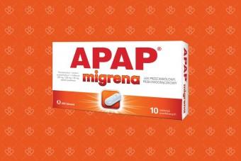 Nowy Apap na migrenę, tabletki na silny ból głowy