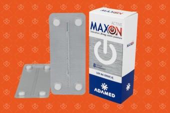 Lek makson. Tabletki na erekcję Maxon Active 8 tabletek