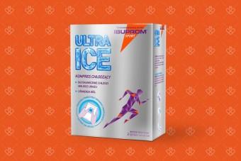 Ibuprom ULTRA ICE sport chłodzący kompres