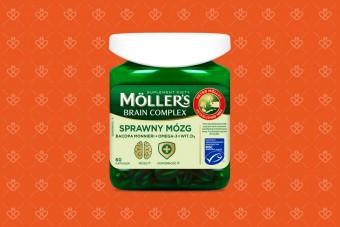 Mollers Sprawny Mózg, 60 kapsułek