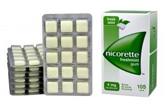 Nicorette freshmint gum 4 mg 105 sztuk
