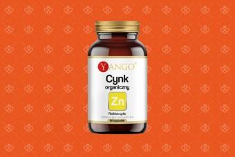 Yango Cynk organiczny, 90 kapsułek