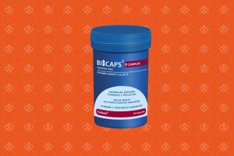 BICAPS B Complex Max, formeds, najlepsza witamina b