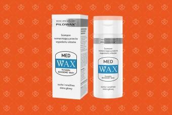 Szampon wzmacniający wax med na wypadające włosy