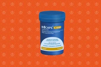 BICAPS witamina C 1000, czysty skład