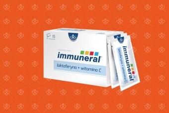 Immuneral, laktoferyna + witamina C, saszetki