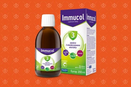 Syrop dla dzieci Immucol 3 odporność