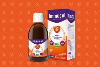 Syrop z tragankiem Immucol 6