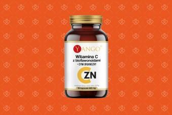 Yango Witamina C z bioflawonoidami i cynkiem organicznym, kapsułki