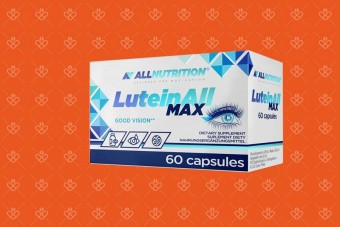 Luteinall Max na oczy Allnutrition, luteina 30 mg