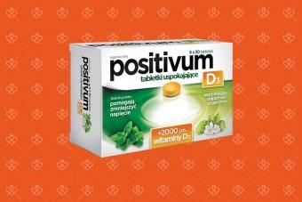 Positivum D3, tabletki Positivum z witaminą D