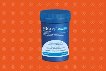 BICAPS z magnezem i witaminą B6