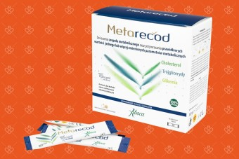 Metarecod, 40 saszetek, na zespół metaboliczny, Aboca