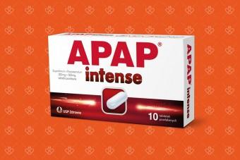 Apap Intense, nowy apap ibuprofen i paracetamol