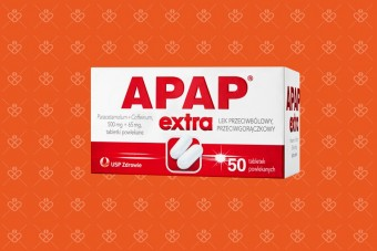 Apap ekstra duże opakowanie 50 tabletek
