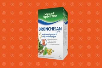 Bronchisan fix, herbata ziołowa na drogi oddechowe, 20 saszetek