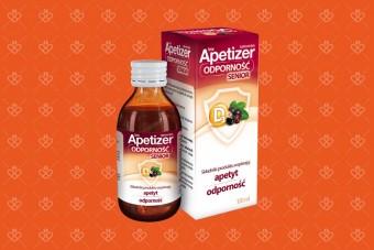 Apetizer Odporność Senior, syrop na apetyt i odporność, 100 ml
