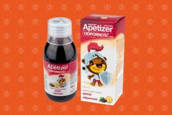 Apetizer Odporność Junior, syrop dla dzieci na apetyt i odporność od 3 lat