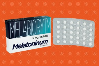 Melabiorytm 5mg, melatonina w tabletkach