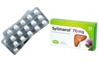 Sylimarol, 30 tabletek drażowanych, 70 mg