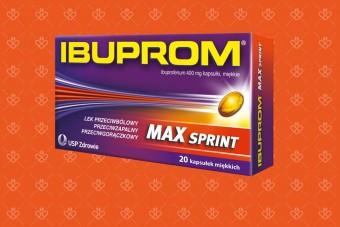 Ibuprom max sprint 20 kapsulek