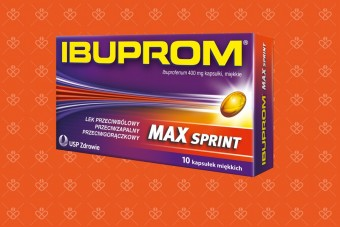 Ibuprom MAX SPRINT 10 kapsułek