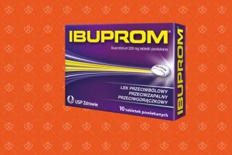 Ibuprom tabletki 10 sztuk