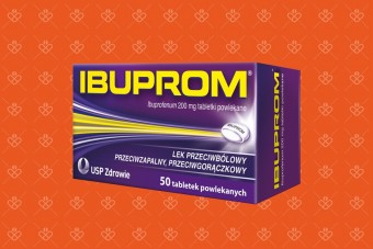 Ibuprom 200 mg ibuprofenu, 50 tabletek