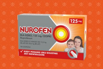 Nurofen czopki 125 mg