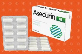 Asecurin IB, probiotyk na ibs