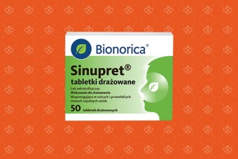 Sinupret 50 tabletek