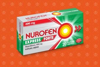 Nurofen Express Forte 20 kapsułek