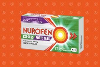 Nurofen Express Forte TABS, szybko działający ibuprofen z lizyną