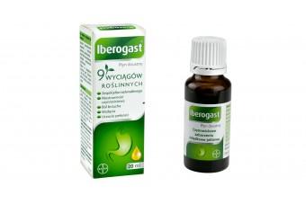 Iberogast - lek na dolegliwości trawienne i zespół jelita drażliwego, 20 ml