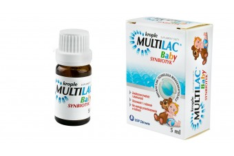 Multilac Baby, krople, synbiotyk, 5ml