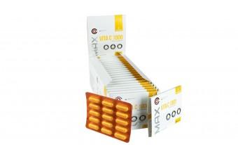 Max Vita C 1000, witamina C, duże opakowanie - box 20 blistrów po 15 kapsułek