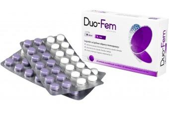 Duo-Fem, tabletki na menopauzę, 28 sztuk na noc i 28 sztuk na dzień