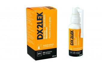DX2LEK, płyn na skórę głowy, 60 ml, minoksydyl, na łysienie androgenowe