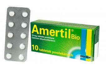 Tabletki na alergię Amertil Bio, 10 sztuk